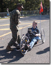 Operation PAL™ Marines at Marine Corps Marathon and 10K